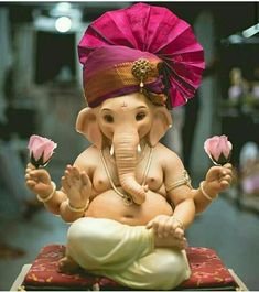Make this Ganesha Chathurthi 2020 special with rituals and ceremonies. Lord Ganesha is a powerful god that removes Hurdles, grants Wealth, Knowledge & Wisdom. Shri Ganesh Images, Ganesha Pictures, Durga Images, Ganesh Idol, Ganesha Art, Ganesha Drawing, Ganesha Tattoo, Ganpati Bappa Wallpapers, Ganpati Picture
