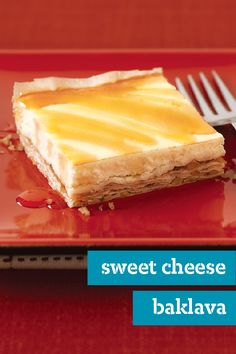 Sweet Cheese Baklava – Imagine your favorite baklava topped with a honey-drizzled cheesecake layer...and you've pretty much imagined this delicious dessert dish recipe!