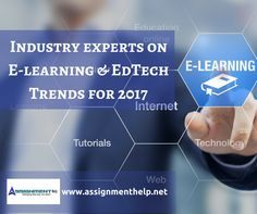It's New Year. It's time to predict what 2017 will be ushering in and also a time to look back at how the actual aligned with the expectations for 2016. Every year, Assignmenthelp prepares an exhaustive guide of trends for e-learning and ed-tech tools that will hold strong ground in 2017 and disrupt the e-learning domain. [ 6,699 more words ] http://www.assignmenthelp.net/blog/elearning-edtech-trends-2017/ #edchat #training #education #edtech #learning #Apple #teachers