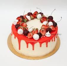 Картинки по запросу торты украшенные глазурью и шоколадом