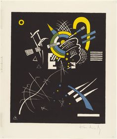 Vasily Kandinsky (French, born Russia. 1866–1944) Small Worlds VII (Kleine Welten VII) from Small Worlds (Kleine Welten) 1922, Lithograph (transferred from woodcut) from a portfolio of twelve prints, six lithographs (including two transferred from woodcuts), four drypoints, and two woodcuts