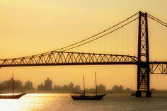 Ponte Hercílio Luz - Florianópolis - Brasil