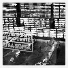 Biblioteca Museo Reina Sofía - Edificio Nouvel en Madrid, Madrid