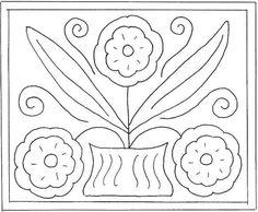 PATTERN – Crocheted Rose Flower Applique — Flower 28