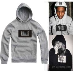 Find More Hoodies & Sweatshirts Information about Kids Pigalle Hoodie Skate Hip Hop Sweatshirt Sudadera Hoodie Boy Girl Slim Fit Street Children Pullover Hoodies Pigalle Clothing,High Quality clothing twins,China pullover sweater Suppliers, Cheap pullover fleece from Witness the Growth of Children on Aliexpress.com