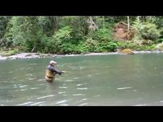 """Spey Casting & Fly Fishing with Mike Kinney demostrating """"Skagit Casting"""""""