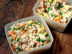krabičkové obědy Polenta, Fried Rice, Fries, Cooking, Ethnic Recipes, Food, Fitness, Diet, Bulgur