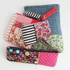 Image of Templates - Zipper Pouches #9 - #16