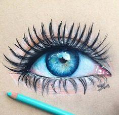Immagine di drawing, eye, and art