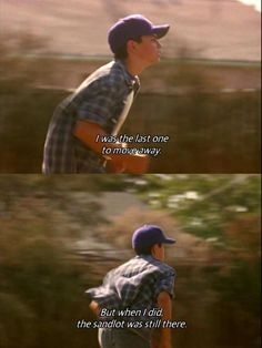 The ending always makes me cry Sandlot Benny, The Sandlot, Tv Show Quotes, Movie Quotes, Sandlot Forever, Sandlot Quotes, Funny Facts, Funny Jokes, Benny The Jet Rodriguez