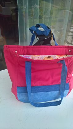 Shopping Bag zum Ausklappen