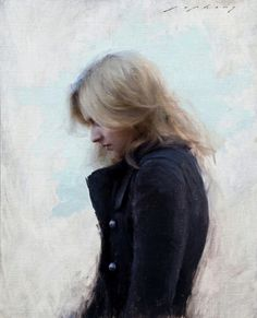This is a painting of my friend's daughter . . . Jeremy Lipking is an amazing artist, and Chelsey is an incredible young woman!