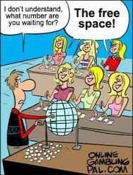Dumb blondes playing Bingo