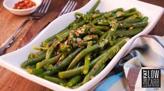 Tender green beans get a delicious kick of flavor from a blend of some our favorite spices!
