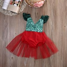 Cheap girl bodysuit, Buy Quality baby girl bodysuits directly from China baby bodysuit girl Suppliers: Newborn Infant Baby Girl Bodysuit Green Red Bebes Tulle Tutu Skirted Body Bodysuits Sunsuit Xmas Outfits Clothes My First Christmas Outfit, Christmas Tutu, Baby Girl Christmas, Christmas Dresses, Christmas Carol, Christmas Photos, Baby Girl Tutu, Baby Girl Dresses, Baby Dress