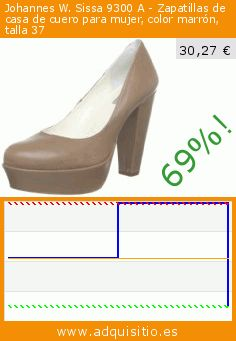 Johannes W. Sissa 9300 A - Zapatillas de casa de cuero para mujer, color marrón, talla 37 (Zapatos). Baja 69%! Precio actual 30,27 €, el precio anterior fue de 98,52 €. https://www.adquisitio.es/johannes-w/sissa-9300-zapatillas-1