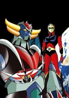 unique peint a la main Goldorak Plus 80s Cartoon Shows, Robot Cartoon, Mecha Anime, Gundam, Japanese Superheroes, Japanese Robot, Cool Robots, Old Anime, Super Robot