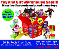 Toronto Toy Sale at the Pop! Holiday Gift Guide, Holiday Gifts, Shopkins, Toy Sale, Tis The Season, Brand Names, Toronto, Great Gifts, Seasons