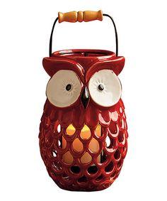 Loving this Spice Owl Lantern on #zulily! #zulilyfinds