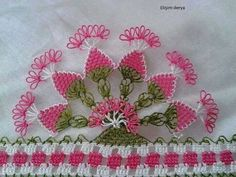 . Crochet Borders, Crochet Patterns, Cross Stitch Needles, Linen Towels, Needle Lace, Fabric Art, Needlepoint, Tatting, Needlework