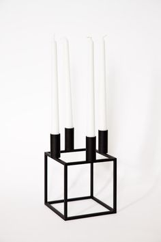 Kubus candle holder