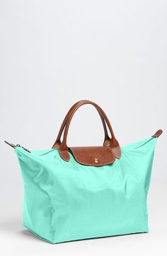 OBSESSED with this color-- Longchamp 'Le Pliage - Medium' Tote available at #Nordstrom