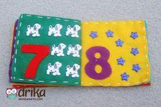 Livro de Feltro Passo a Passo: Aprenda Como Fazer Essa Linda Peça! Felt Quiet Books, Coin Purse, Snoopy, Diy, Crafts For Children, Craft Ideas, Fabric Books, Felt Books, Educational Crafts