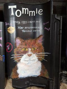 Verlaat grafzerkje voor Tommie #Dakpan