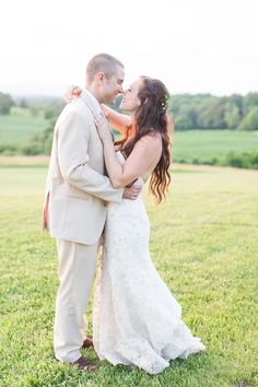Orange VA farm wedding by @shalesedanielle  Dress @urbansetbride Shoes @versonastores Jeweler @diamondsdirect Florals @lacysflorist Bridesmaids @bellabridesmaid @reformation @jimhjelm