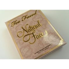 Too Faced Natural Face Features  Six face essentials, includes a universal luminizer, brightener and concealer in neutral shades, cream and powder cheek options along with a golden-bronze veil for an overall glow Flexible usage.  Brand new in box Too Faced Makeup Bronzer