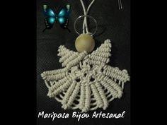 Macrame Angel Christmas Decoration ♥ DIY ♥ - YouTube