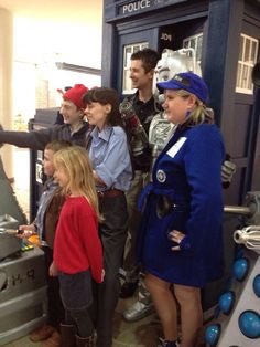 01/11/2013 #HerneBay #TARDIS in #Gravesend for a #DoctorWho Fun day. With thanks to Graham Long.