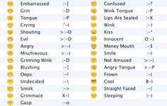 text emoticons - Google Search                              …