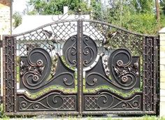 Manufacturer Shutter Doors And Gates India Compound Wall Gate Design, Gate Wall Design, Grill Gate Design, Steel Gate Design, Front Gate Design, Main Gate Design, House Gate Design, House Front Design, Metal Gates
