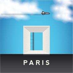 Paris - Grande Arche de la Défense
