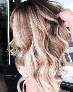 "Amy McManus• Massachusetts on Instagram: ""#behindthechair #btconeshot19_warmbalayage #btconeshot19_coolbalayage"""