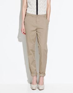 Chinos. Just bought them. And they rock.
