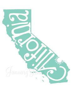 california print to frame