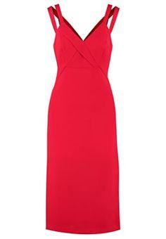 Jersey dress - cardinal feat
