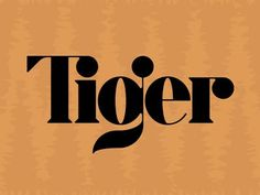 Tiger by Matt Erickson, via From up North