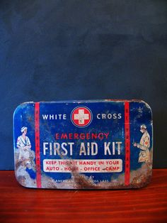 White Cross First Aid Kit.