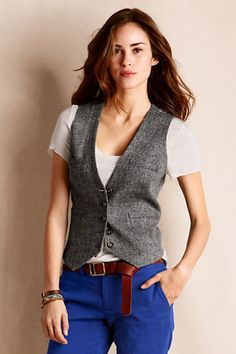 Idea Not-for-Sale, Probably a men's vest tailored to fit a woman