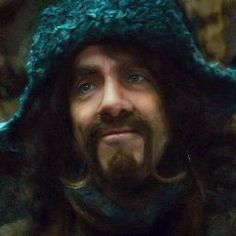 Bofur the Sweet... and a lovely voice, too.  He is always the one looking out for Bilbo.  His best scene is when he sadly wishes Bilbo luck after Bilbo thoughtlessly reminds Bofur that he is homeless.