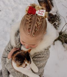 Last christmas style  . Beautiful bow from @bowpretties . . . . . . #braid #braids #braided #braiding #braidideas #braidsforgirls #flette #peinado #tresse #trenza #pelo #hair #hairdo #hairstyle #hairideas #hairinspo #hairofinstagram #hairoftheday #hår #winter #frisyre #styling #bow #cat