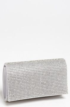 Tasha Rhinestone Clutch available at Silver Jewellery Indian, Silver Jewelry, Prom Accessories, Silver Clutch, Small Shoulder Bag, Clutch Purse, Evening Bags, Purses And Bags, Handbags