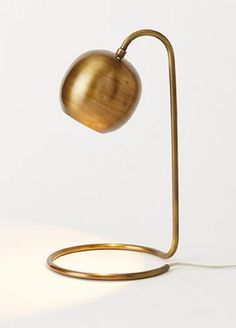 Scoop Table Lamp in Brass