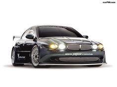 Jaguar X-Type Racing Concept (2002) - Front View