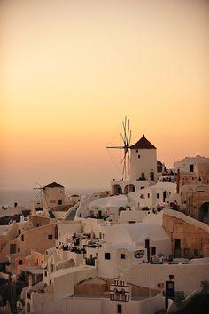 Santorini+Sunset+-+