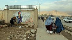 PHOTOS. La première femme street artist en Afghanistan