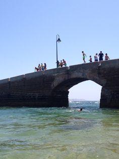 Puente Canal Caleta Cádiz
